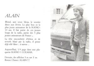 Radio 1 Colmar (Programme 1983)