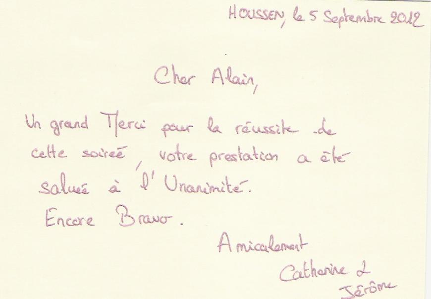 avis dj mariage (Alsace)